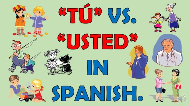 what is the difference between usted and tu